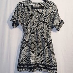 Athleta V-Neck Dress Kaftan Tunic Coverup